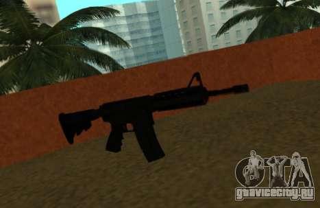 M4 CQB для GTA San Andreas