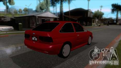 Ford Escort 1996 для GTA San Andreas вид справа