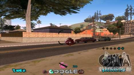 C-HUD Google для GTA San Andreas пятый скриншот
