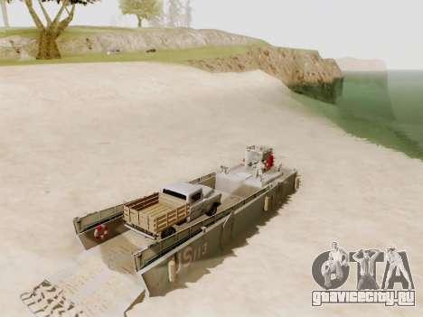 Landing Craft для GTA San Andreas вид сверху