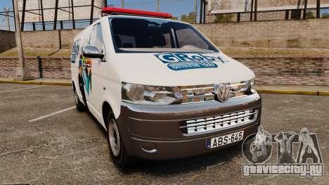 Volkswagen Transporter T5 Groby Netshop [ELS] для GTA 4