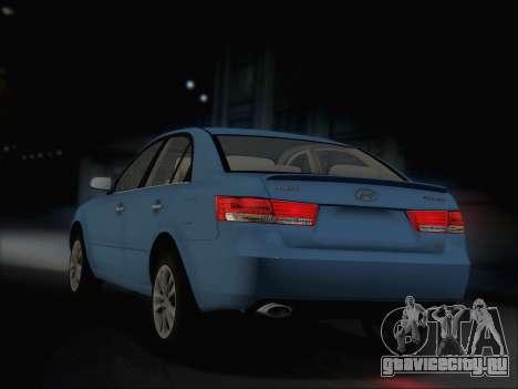 Hyundai Sonata 2009 для GTA San Andreas вид справа