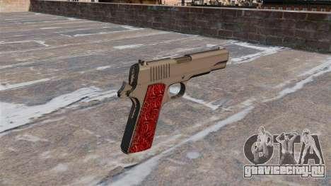 Пистолет Colt 1911 Chrome для GTA 4 второй скриншот