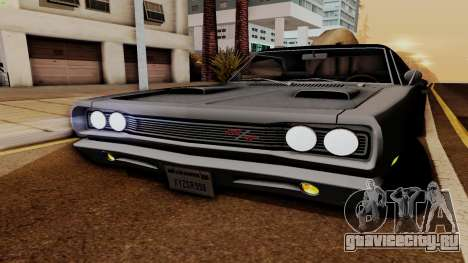 Dodge Coronet RT 1969 440 Six-pack для GTA San Andreas вид сбоку