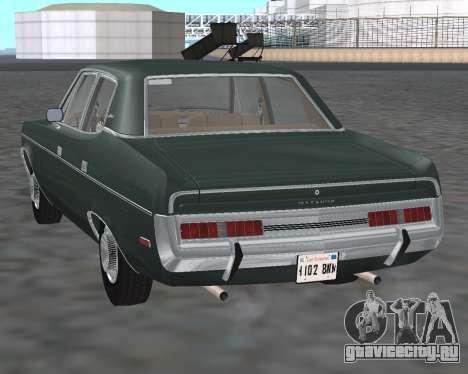 AMC Matador 1972 для GTA San Andreas вид сзади слева