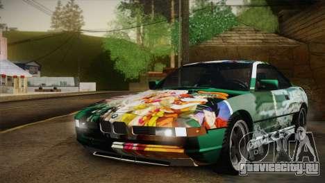 BMW M8 Custom для GTA San Andreas вид сверху