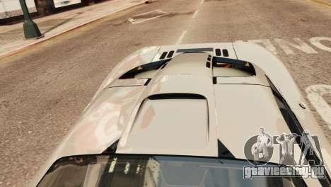 McLaren F1 XP5 для GTA 4 вид сзади