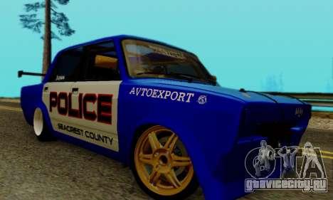 ВАЗ 2107 Дрифт для GTA San Andreas