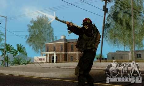 Kopassus Skin 1 для GTA San Andreas десятый скриншот