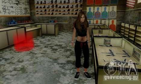 Carlita для GTA San Andreas четвёртый скриншот