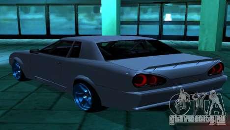 Elegy AssemblY для GTA San Andreas вид сзади слева