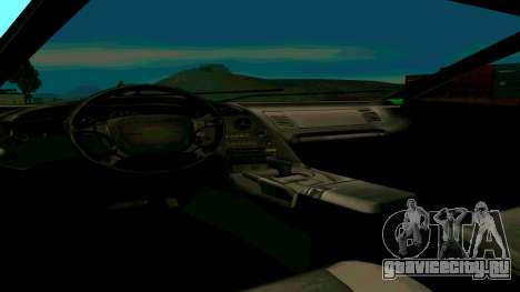 Новая Turismo для GTA San Andreas вид справа