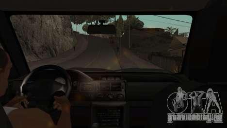 Ford Escort 1996 для GTA San Andreas вид изнутри