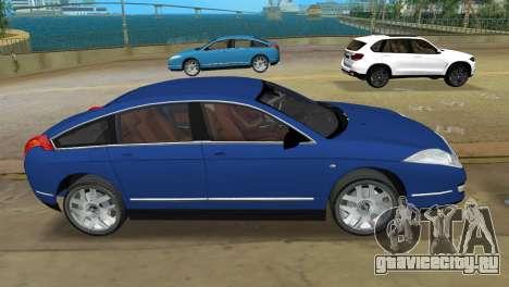 Citroen C6 для GTA Vice City вид слева