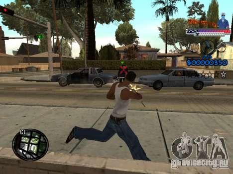 Новый C-HUD Ghetto для GTA San Andreas четвёртый скриншот