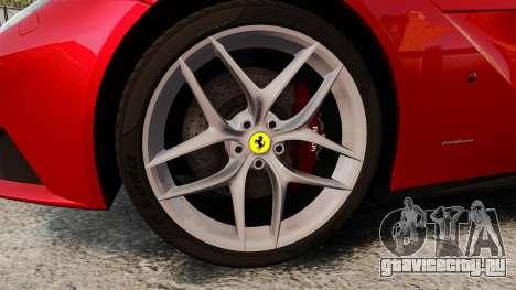 Ferrari F12 Berlinetta 2013 [EPM] Deaths-head для GTA 4 вид сзади
