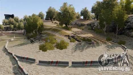 Ралли-трек для GTA 4 третий скриншот