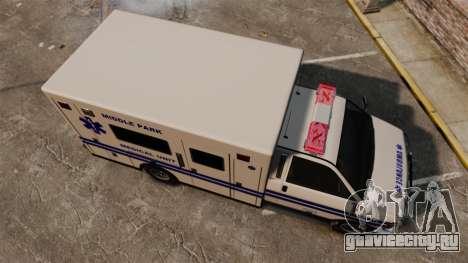 Brute MPMU Ambulance для GTA 4 вид справа