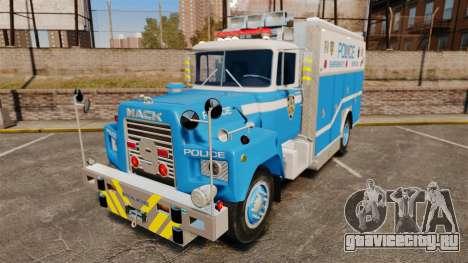 Mack R Bronx 1993 NYPD Emergency Service для GTA 4