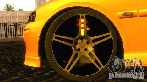 Opel Vectra B TUNING для GTA San Andreas вид справа
