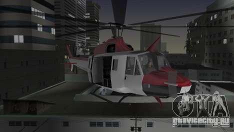 Bell HH-1D для GTA Vice City вид сбоку