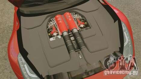 Ferrari F12 Berlinetta 2013 [EPM] Deaths-head для GTA 4 вид изнутри