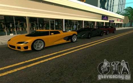 GTA V Entity XF для GTA San Andreas вид слева