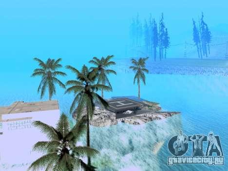 Новый остров v1.0 для GTA San Andreas