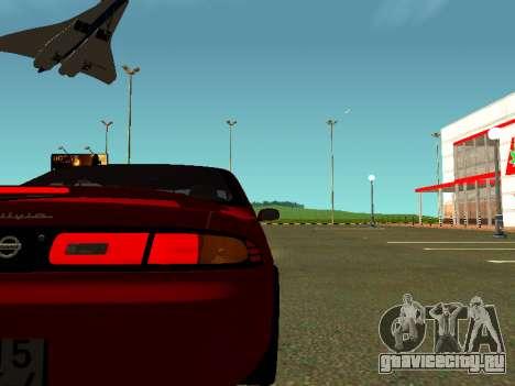 Nissan Silvia S14 Zenki для GTA San Andreas вид справа