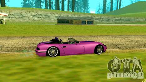 New Banshee для GTA San Andreas вид сзади слева
