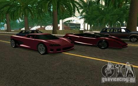 GTA V Entity XF для GTA San Andreas вид справа