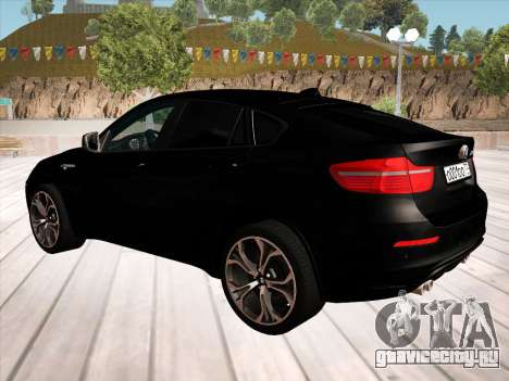 BMW X6M 2010 для GTA San Andreas