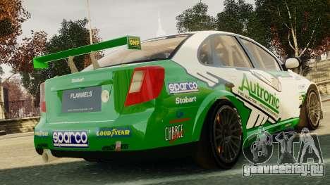 Chevrolet Lacetti для GTA 4 вид сзади слева