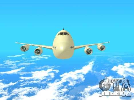 Boeing 747 Air China для GTA San Andreas вид сбоку