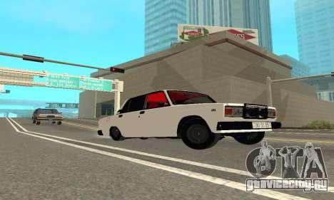 ВАЗ 2107 Avtosh для GTA San Andreas вид справа
