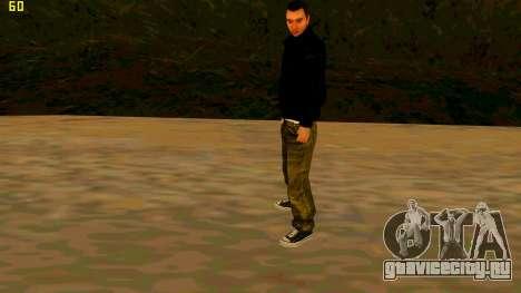 Новая текстура Claude для GTA San Andreas третий скриншот