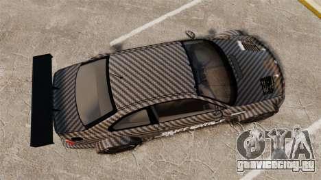 BMW M3 GTR 2012 Drift Edition для GTA 4 вид справа