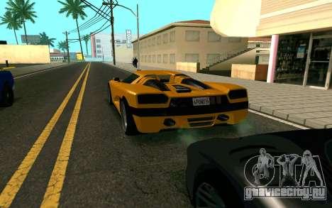 GTA V Entity XF для GTA San Andreas вид сзади слева