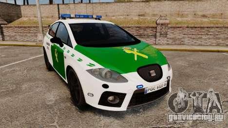 Seat Cupra Guardia Civil [ELS] для GTA 4