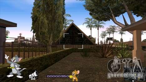 C-HUD Tom and Jerry для GTA San Andreas шестой скриншот