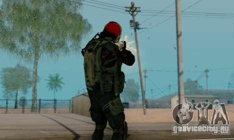 Kopassus Skin 1 для GTA San Andreas одинадцатый скриншот
