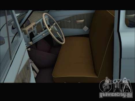 ГАЗ 21 для GTA San Andreas вид сзади слева