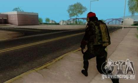Kopassus Skin 1 для GTA San Andreas двенадцатый скриншот