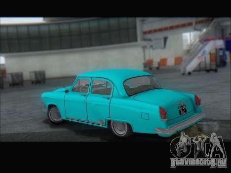 ГАЗ 21 для GTA San Andreas вид сбоку