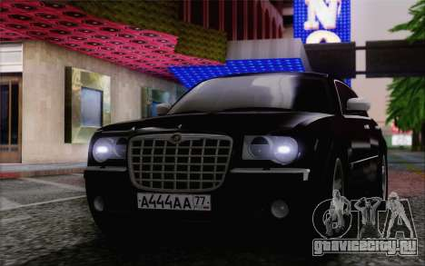 Chrysler 300C 2009 для GTA San Andreas вид сзади слева