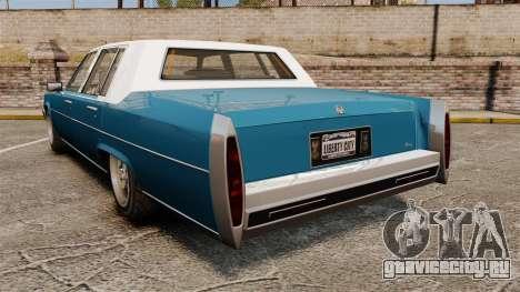 Emperor New Wheel для GTA 4 вид сзади слева