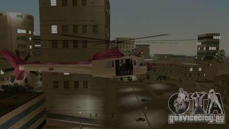 Bell HH-1D для GTA Vice City вид сзади