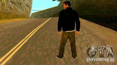 Новая текстура Claude для GTA San Andreas второй скриншот