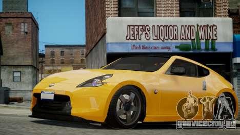 Nissan 370Z 2009 для GTA 4