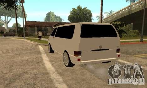 Volkswagen T4 Transporter для GTA San Andreas